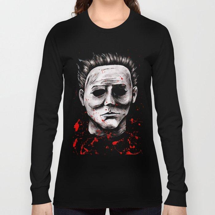 52bfb024 Michael Myers Long Sleeve T-shirt.