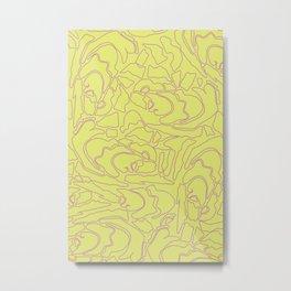 Pastel Pattern III Metal Print
