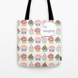 I'm Naughty Tote Bag