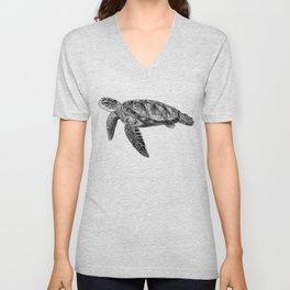 Sea Turtle 1 Unisex V-Neck
