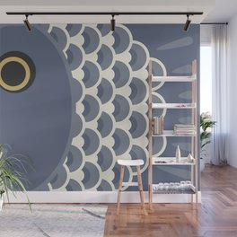 Koinobori | Grey Wall Mural