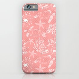Coral sea #sea #coral #salmon #water iPhone Case