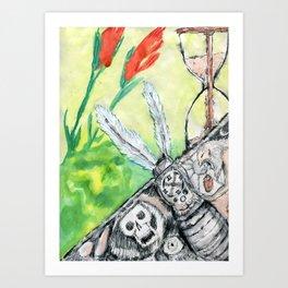 Kronos Throws Up Art Print