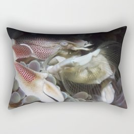 Porcelain Anemone Crab (Filter the best, leave out all the rest) Rectangular Pillow