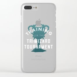 Training: Triwizard  Cup Clear iPhone Case