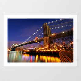 City of Dreamers Art Print
