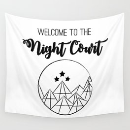 Welcome to the Night Court | Acomaf Wall Tapestry