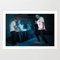 odd future Art Prints featuring Odd Future, 2011. by Josh Sisk Photography