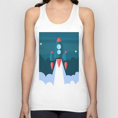 Spaceship XCII Unisex Tank Top