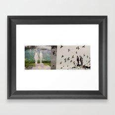 bird Dreams Framed Art Print