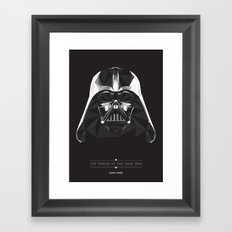 Dark Side Framed Art Print