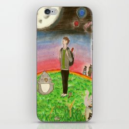 PJ, Tiny Planet Explorer iPhone Skin