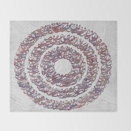 Persian typography Throw Blanket