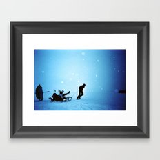 Winterwonderland I Framed Art Print