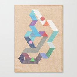 Parallelogram: Harmony Canvas Print