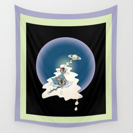 ... to Purrypton and back Wall Tapestry
