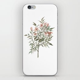 Small Floral Branch iPhone Skin