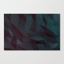 low poly Canvas Print