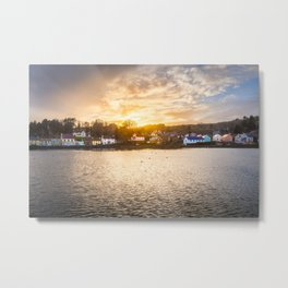 Union Hall West Cork Ireland Metal Print