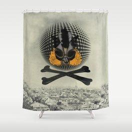 Losing sleep Shower Curtain