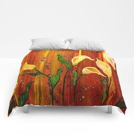lillies Comforters