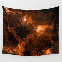 Ravaged Visions Wall Tapestry