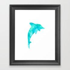 Exotic Dolphin Framed Art Print