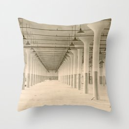 Moved Out Throw Pillow