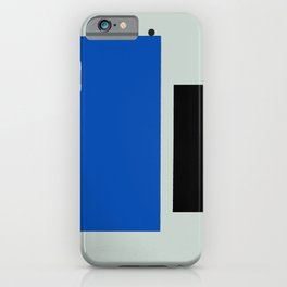 Color Extension Blue iPhone Case