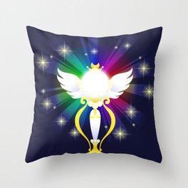VECTOR MOON - manga Rainbow Moon Calice Throw Pillow