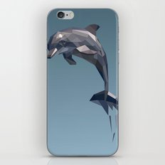 Geometric Dolphin iPhone & iPod Skin