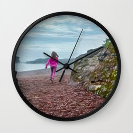 Can't Catch Me Wall Clock