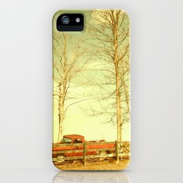 Pappy's farm truck. iPhone Case