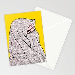 Roy Lichtenstein Meets the Arabic Woman Stationery Cards