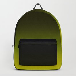 Ombre Yellow Backpack