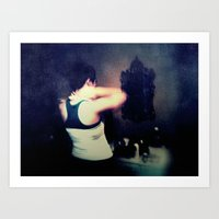 gray Art Prints featuring Gray by Brookita