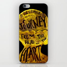 Pilgrimage is a Journey iPhone Skin