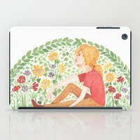 grantaire iPad Cases featuring The Law of Complementary Colours by foxflowers
