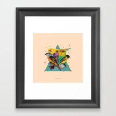 Colour Party Framed Art Print