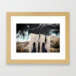 Natures Diving Board Framed Art Print