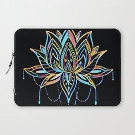 Pastel Lotus Laptop Sleeve