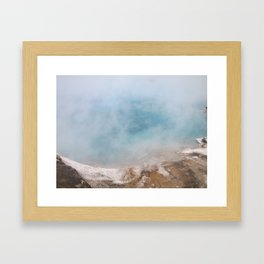 ...and it always comes back to this... Framed Art Print
