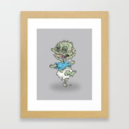 Zombie Pickles Framed Art Print