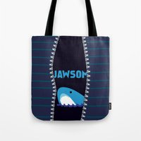 stiles Tote Bags featuring Stiles Stilinski by smartypants