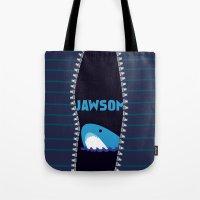 stiles stilinski Tote Bags featuring Stiles Stilinski by smartypants