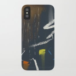 see the sky about to rain iPhone Case