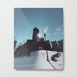 Montreal Downtown Metal Print