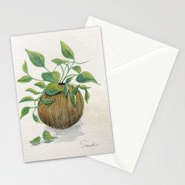 Golden Pathos #botanical Stationery Cards