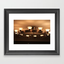 Antique Lighting  Framed Art Print