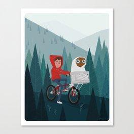Extra Extra Canvas Print